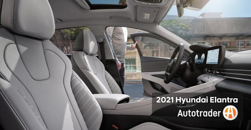 2021 Elantra Interior