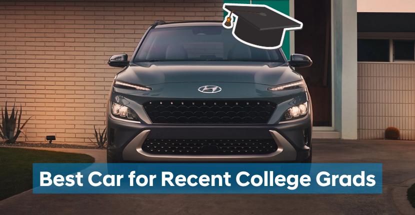 Hyundai Kona Best Car for College Grads
