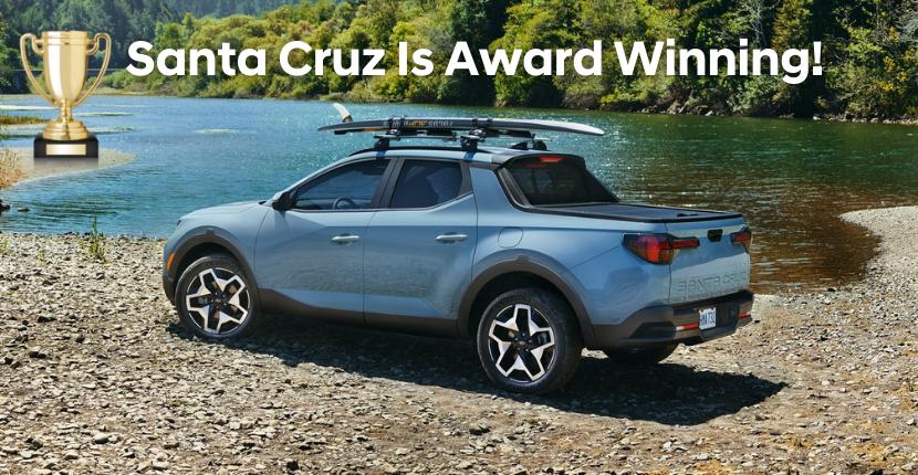 Santa Cruz Awarded 2021 Best Pickup Truck Award